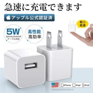 【USBーA対応商品】iPhone / iPod対応[USB給電]5W AC - USB充電器 (ホ...