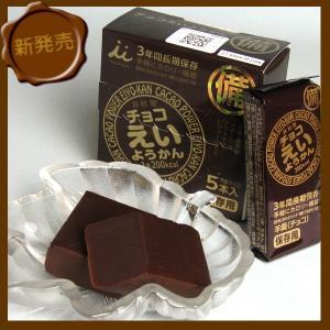 井村屋 チョコえいようかん (55g×5本入) 10箱セット