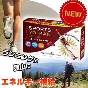 井村屋 スポーツようかん あずき 5本入 (40g×5本)