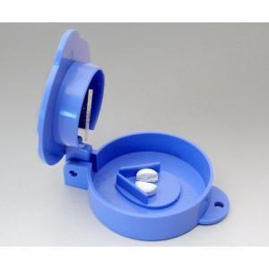 ●カップ状でカットした錠剤が飛び散ることがありません。  ■商品仕様 材質:本体/ABS樹脂、刃/ス...