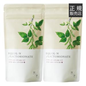 【2個セット】エクオール + ラクトビオン酸 [大豆由来成分 / イソフラボン / 加齢] [メール...