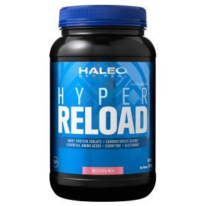 HALEO ハイパーリロード HYPER RELOAD 1.5kg オレンジレモン 【プロテイン ハ...
