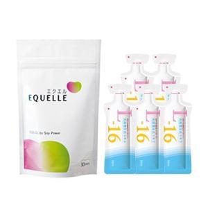 大塚製薬 エクエル パウチ 120粒入り 1袋 + 乳酸菌生成エキスL-16(お試し5包) エクオール|eisin1