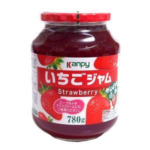 【キャッシュレス5%還元】加藤産業 カンピー いちごジャム 780g ×3個【イージャパンモール】|ejapan