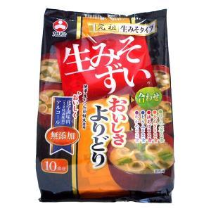【キャッシュレス5%還元】旭松食品 生みそずい無添加よりどり 10食 196.4g(10食) ×10個【イージャパンモール】|ejapan