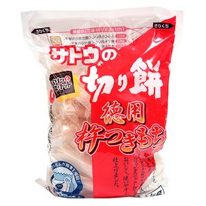 【キャッシュレス5%還元】佐藤食品 徳用杵つき餅 角もち 1.1kg ×10個【イージャパンモール】|ejapan