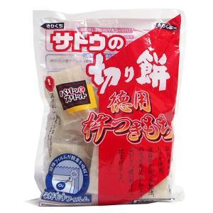 【キャッシュレス5%還元】佐藤食品 徳用杵つき餅 角もち 550g ×12個【イージャパンモール】|ejapan