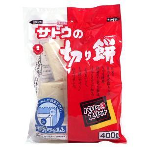 【キャッシュレス5%還元】佐藤食品 パリッとスリット 角もち 400g ×20個【イージャパンモール】|ejapan