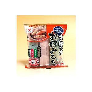 【キャッシュレス5%還元】【送料無料】たいまつ食品 きねつきお好みもち 300g (黒大豆・えび・黒ごま 各種3枚×3袋) ×24個【イージャパンモール】 ejapan