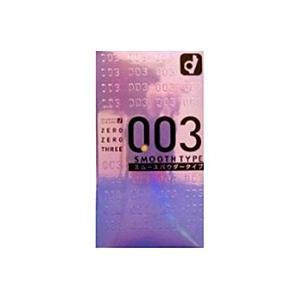 オカモト 003ゼロゼロスリースムースパウダー(10個入)【コンドーム】 ×3個【イージャパンモール】|ejapan