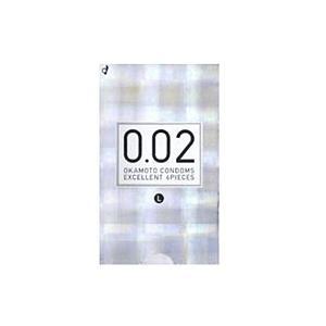 オカモト うすさ均一0.02(ゼロゼロツー)EXLサイズ(6個入)【コンドーム】 ×3個【イージャパンモール】|ejapan