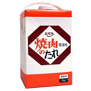 【キャッシュレス5%還元】★まとめ買い★ エバラ 焼肉のたれ 醤油味 5Kg  ×4個【イージャパンモール】|ejapan