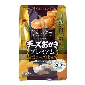 ★まとめ買い★ ブルボン チーズおかきプレミアム 60g ×5個【イージャパンモール】|ejapan