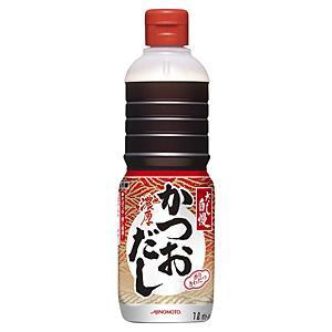 【キャッシュレス5%還元】★まとめ買い★ 味の素 濃厚かつおだし(赤) 1L ×6個【イージャパンモール】|ejapan