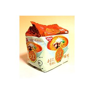 ★まとめ買い★ 日清食品(株) 日清ラ王 味噌 99g×5食パック ×6個【イージャパンモール】|ejapan