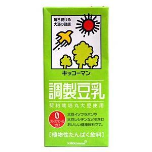 ★まとめ買い★ キッコーマン 調製豆乳1L ×6個【イージャパンモール】|ejapan