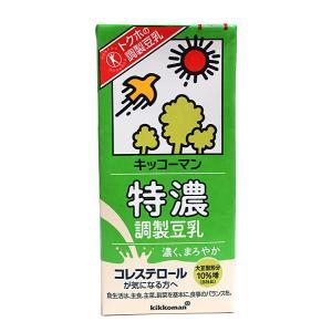 ★まとめ買い★ キッコーマン 調整豆乳特濃1000ml ×6個【イージャパンモール】|ejapan