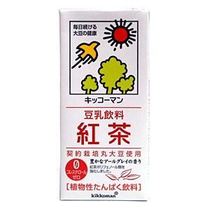 ★まとめ買い★ キッコーマン 豆乳飲料 紅茶 1L ×6個【イージャパンモール】 ejapan