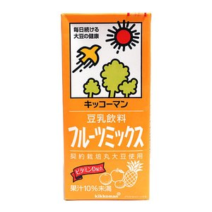 ★まとめ買い★ キッコーマン 豆乳飲料フルーツミックス 1L ×6個【イージャパンモール】|ejapan