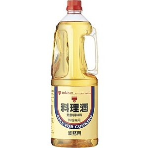 【キャッシュレス5%還元】★まとめ買い★ ミツカン 料理酒 ペット 1.8L ×6個【イージャパンモール】|ejapan