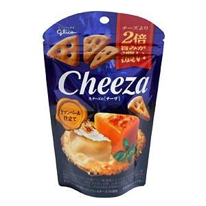 【キャッシュレス5%還元】★まとめ買い★ グリコ 生チーズのチーザ カマンベールチーズ仕立て 40g...
