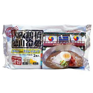 ★まとめ買い★ 徳山 大阪鶴橋徳山冷麺 キムチ味 2食 ×12個【イージャパンモール】|ejapan