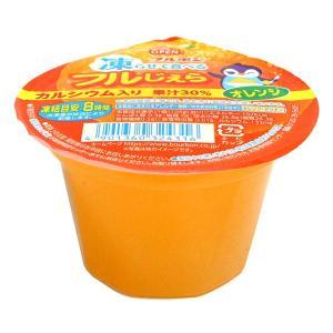 ★まとめ買い★ ブルボン 凍ラせて食べるフルじぇらオレンジ105g ×15個【イージャパンモール】 ejapan