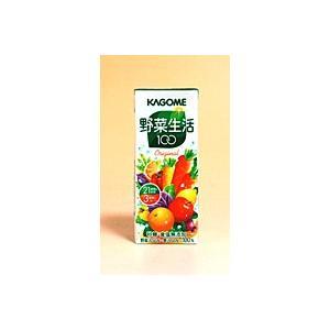 ★まとめ買い★ カゴメ 野菜生活100 オリジナル 200ml ×24個【イージャパンモール】|ejapan