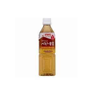 【キャッシュレス5%還元】ピジョン ベビー麦茶 500ml ×24個【イージャパンモール】