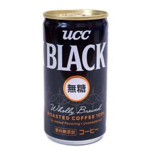 ★まとめ買い★ UCC BLACK無糖 185g ×30個【イージャパンモール】|ejapan