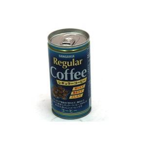 ★まとめ買い★ サンガリア レギュラーコーヒー 190g缶 ×30個【イージャパンモール】|ejapan