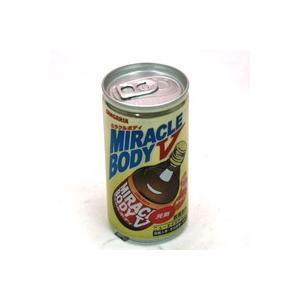 ★まとめ買い★ サンガリア ミラクルボディV 190g缶 ×30個【イージャパンモール】 ejapan