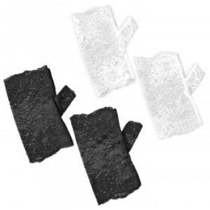 【送料無料】レースハンドカバー(2色組)【生活雑貨館】|ejapan