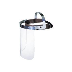 山本光学 防災面 作業帽タイプ 透明 1個|ejapan