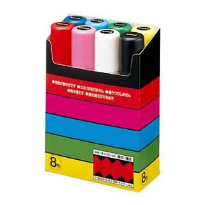 三菱鉛筆関西販売(株) ユニポスカ極太 8色...の関連商品10