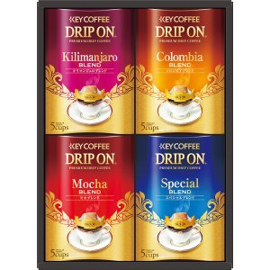 【キャッシュレス5%還元】【送料無料】キーコーヒー ドリップオンコーヒーギフト  KDV−20N【代引不可】【ギフト館】|ejapan