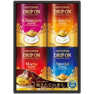 【キャッシュレス5%還元】【送料無料】キーコーヒー ドリップオン・レギュラーコーヒーギフト KDV−20N【代引不可】【ギフト館】|ejapan