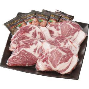 【送料無料】「イブ美豚」(猪豚肉) ステーキ(5枚)セット【代引不可】【ギフト館】