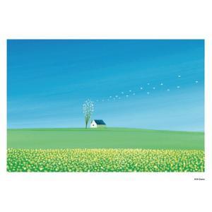【送料無料】葉祥明「春の風」 A3_84春の風【代引不可】【ギフト館】|ejapan