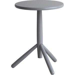 【送料無料】サイドテーブル(キノコ) グレー ILT−2988GY【代引不可】【ギフト館】 ejapan