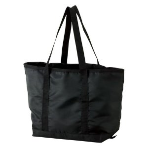 折りたたみサイズアップバッグ ブラック【代引不可】【同梱不可】【ノベルティ館】 ejapan
