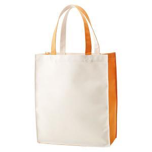 ライトカラートートバッグ オレンジ【代引不可】【同梱不可】【ノベルティ館】 ejapan