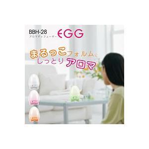 阪和 PRISMATE(プリズメイト)アロマディフューザー Egg BBH-28 ホワイト【返品不可】【家電雑貨館】 ejapan