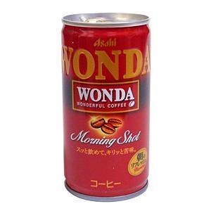 【キャッシュレス5%還元】アサヒ ワンダ モーニングショット 185g缶【イージャパンモール】|ejapan