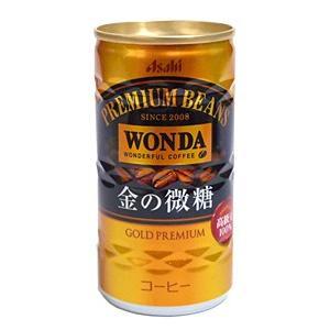 【キャッシュレス5%還元】アサヒ ワンダ 金の微糖 185g缶【イージャパンモール】|ejapan