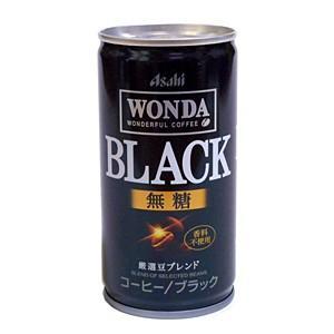 【キャッシュレス5%還元】アサヒ ワンダブラック 185g缶【イージャパンモール】|ejapan