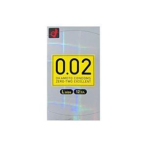 オカモト うすさ均一0.02EX Lサイズ(12個入)【コンドーム】【イージャパンモール】|ejapan