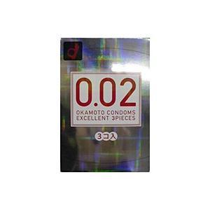オカモト うすさ均一0.02EX(3個入)【コンドーム】【イージャパンモール】|ejapan