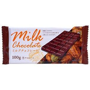 ドウシシャ 板チョコミルクチョコレート 100g【イージャパンモール】|ejapan