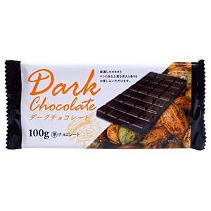 ドウシシャ 板チョコダークチョコレート 100g【イージャパンモール】|ejapan